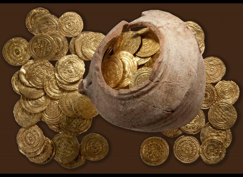 Un trésor datant des croisades découvert en Israël