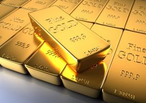 Hausse du cours de l'or