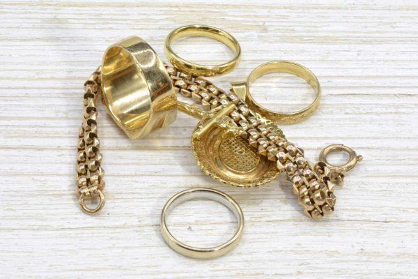 Achat de bijoux en or